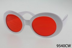 9540WC - One Dozen - White w/ Assorted Lenses