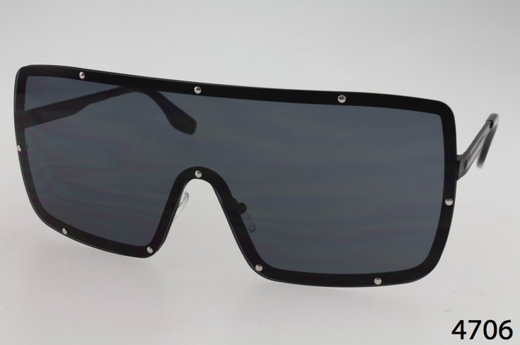 726f898d027 Wholesale Metal Frame Shield Sunglasses with Studded Accents