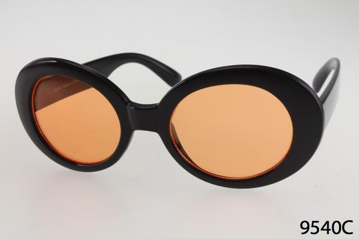 44fa85fbfb Plastic Frame Wholesale Oval Celebrity Sunglasses with Color Lenses