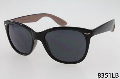 8351LB - One Dozen - Black/Beige 2-Tone