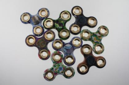 Fidget Spinners - One Dozen - Assorted Colors