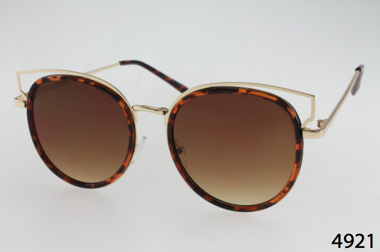 wholesale cat eye sunglasses with unique inlay